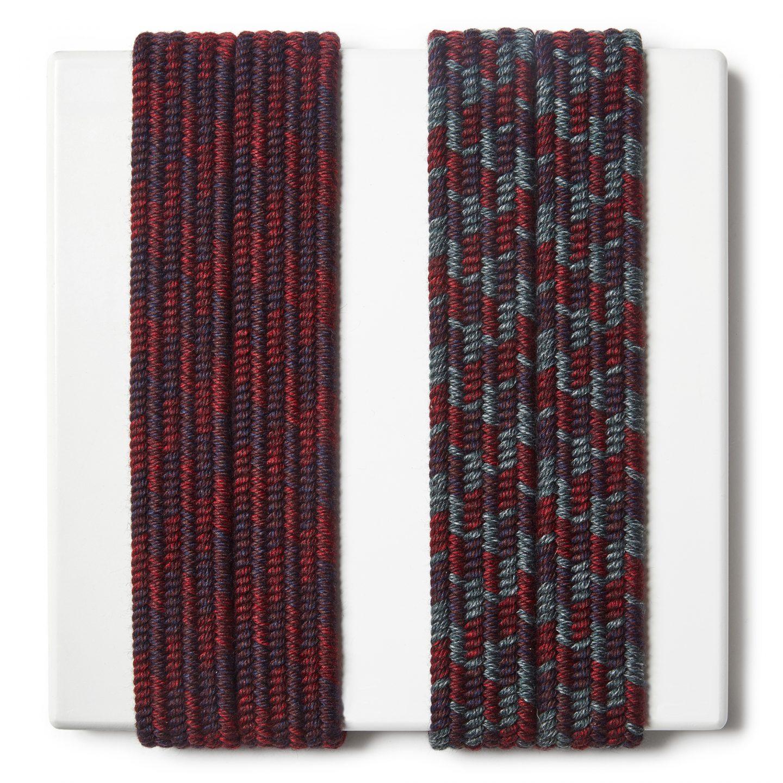 Trecce elastiche per cinture in lana