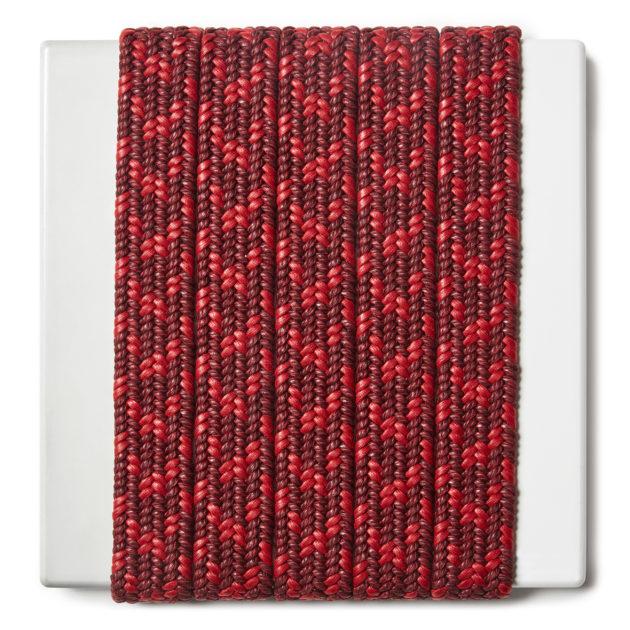 Treccia elastica per cinture in cotone cerato