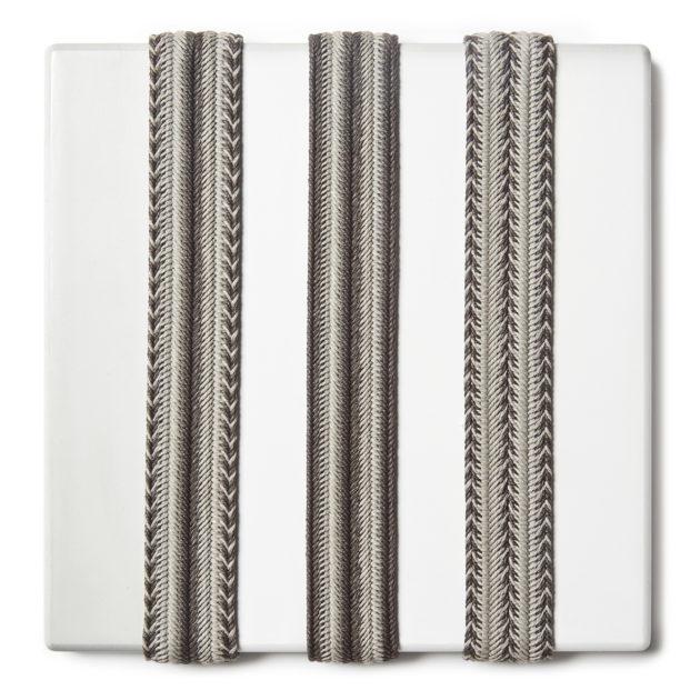 Trecce rigide per cinture e tracolle in cotone cerato